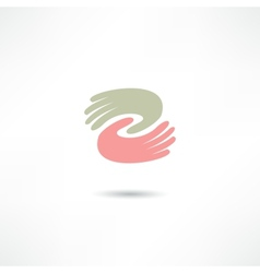 Business icon Handshake Transaction vector image