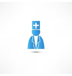 Doctor icon vector image vector image