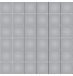 Gray tile seamless pattern background vector image vector image