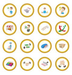 marketing icon circle vector image vector image