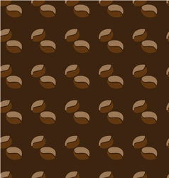 pattern coffee vector image vector image