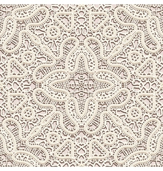 Vintage lace pattern vector image
