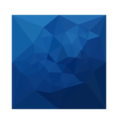 Egyptian Blue Abstract Low Polygon Background vector image