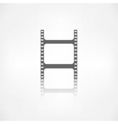 Film web icon Filmstrip symbol vector image