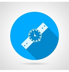 Flat icon for watch vector image