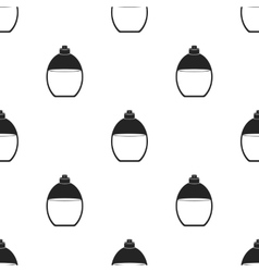 Perfume icon in black style isolated on white vector