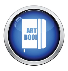 Sketch book icon vector image