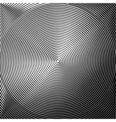 Design monochrome twirl circular background vector