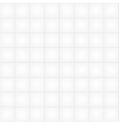 White tile seamless pattern background vector