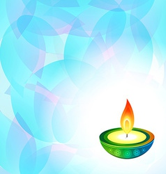 Diwali background vector