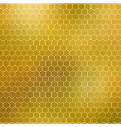 Honeycomb - abstract geometric hexagon grid vector