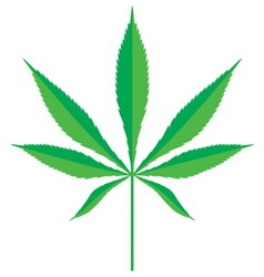 Cannabis leaf2 resize vector