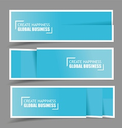 Paper design template for numbered paper vector image vector image
