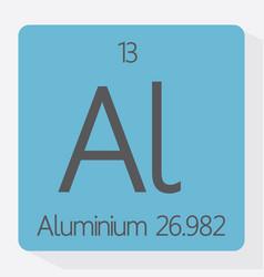 aluminium vector image