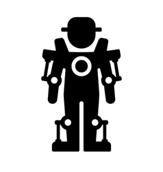 Exoskeleton Icon vector image vector image