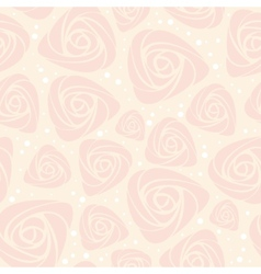 floral rose pattern vector image vector image