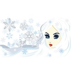 Snow queen2 vector