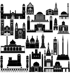Architecture africa-5 vector