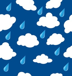 clouds pattern2 vector image