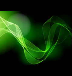 Dark green background vector image vector image