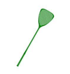 Flyswatter in green design vector