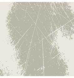 grunge scratched background vector image vector image