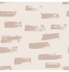 Seamless nude handmade abstract brush vector