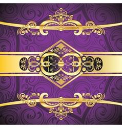Purple Decorative Background3 vector image