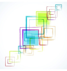 Abstract white background with grunge rhombus vector image vector image