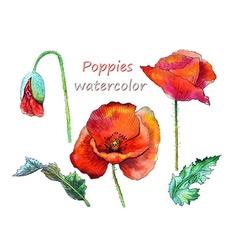 Watercolor party design vector image