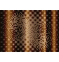 Optical abstract on brown background vector