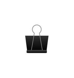 Binder clip vector