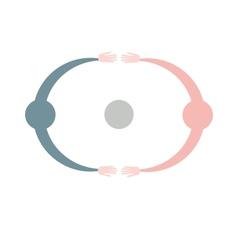 Team symbol Collaboaration vector image vector image