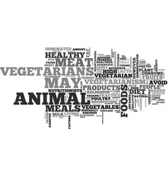 What you need to know about vegetarianism text vector