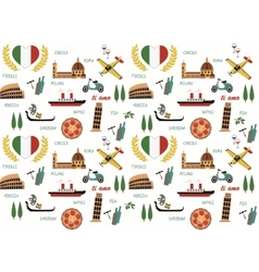 Italy pattern vector