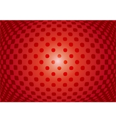 Optical abstract on red background vector