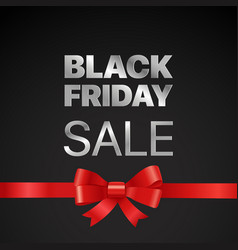 Black friday concept black friday sale tag with vector
