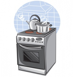 cooker vector image vector image