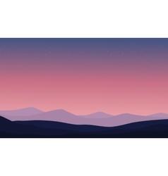 Desert backgrounds vector
