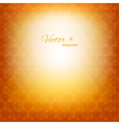 Geometric abstract sunny background vector image vector image