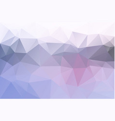 Pink grey low poly background vector