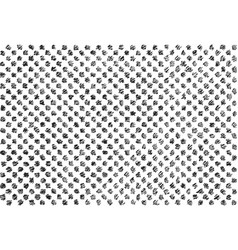 sketched doodle texture vector image vector image