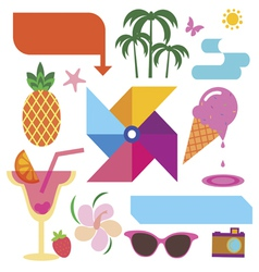Summer clip art vector