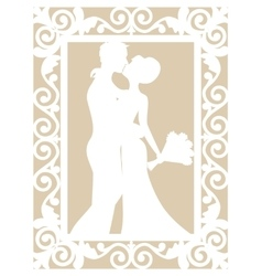 Wedding laser cut vector