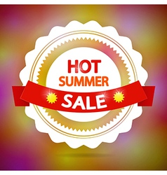 Hot summer sale vector