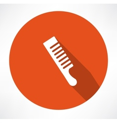 Comb icon vector