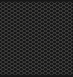 seamless pattern thin wavy lines texture of mesh vector image vector image