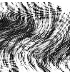 Wavy halftone background vector