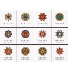inndian Mandala vector image