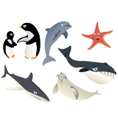 Animal marine life vector